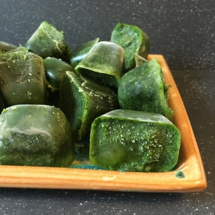 kale cubes by loopylocks