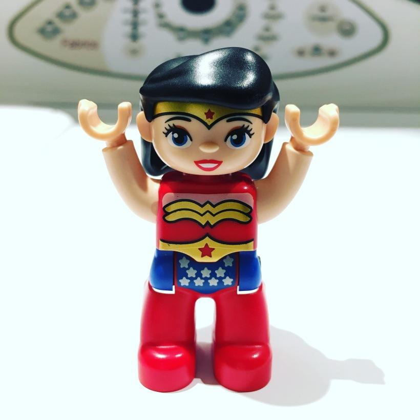 I am wonder woman by loopylocks