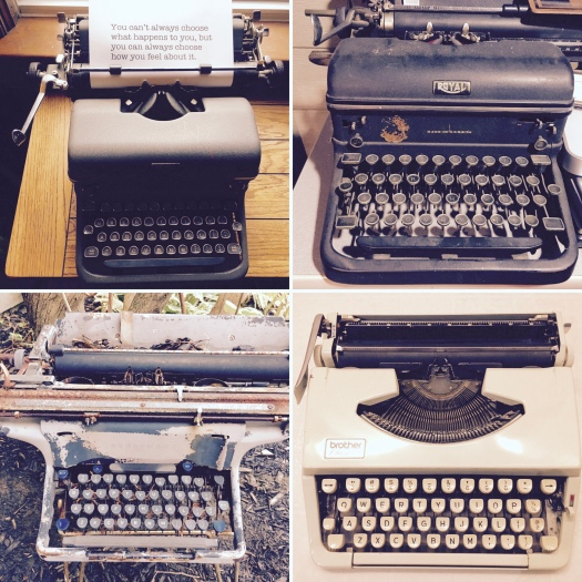 typewriter collection by loopylocks