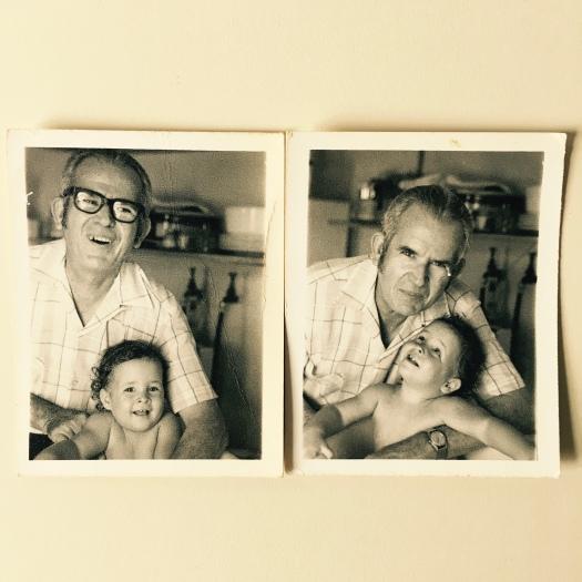 Me and Papa by loopylocks