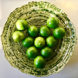 fresh limes for Bajan Rum Punch by loopylocks