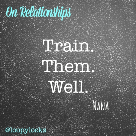 Nana on Relationships by loopylocks