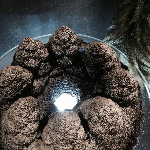Chocolate Tree Bundt Cake by loopylocks