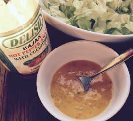 Delish Bajan Hot Pepper Sauce with Cucumber