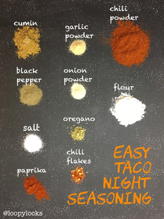Easy Taco Night Seasoning by loopylocks