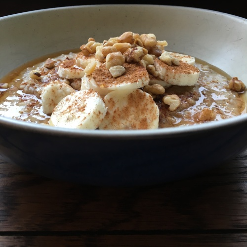Goldilocks Porridge in the Instant Pot